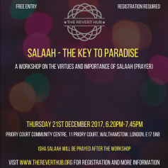 Workshop on Salaah